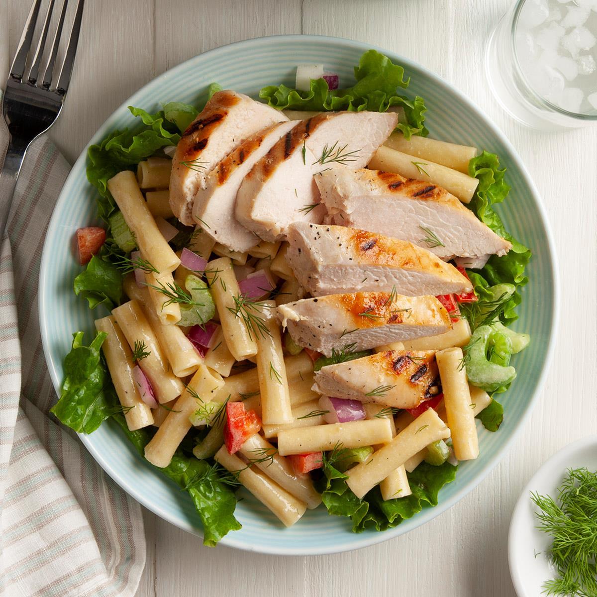 Grilled Chicken Salad Recipe Taste Of Home