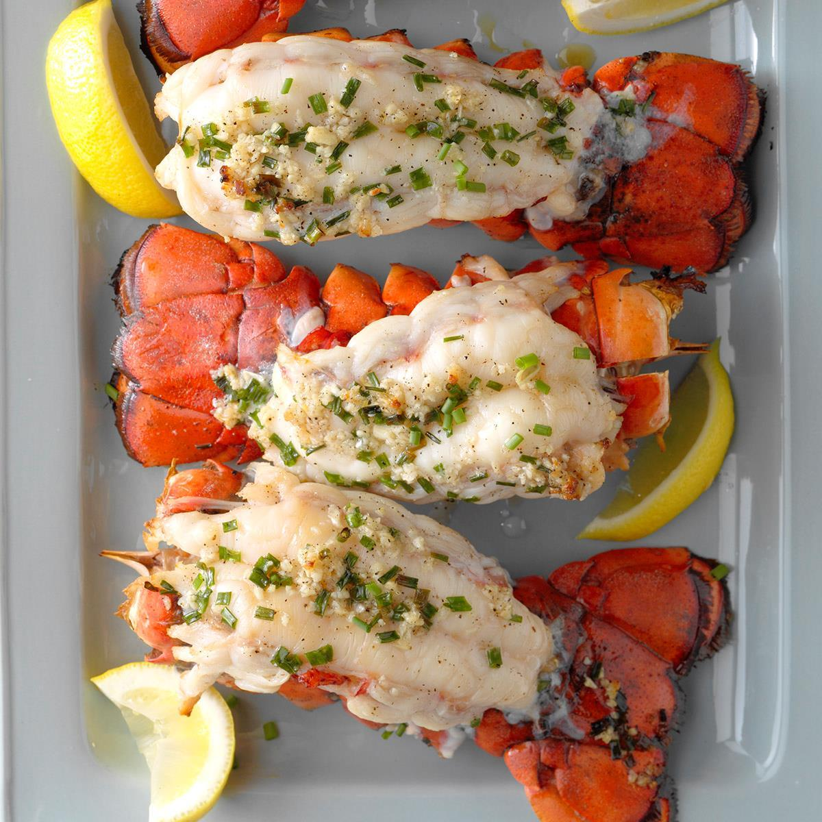 Grilled Lobster Tails Recipe How To Make It Taste Of Home