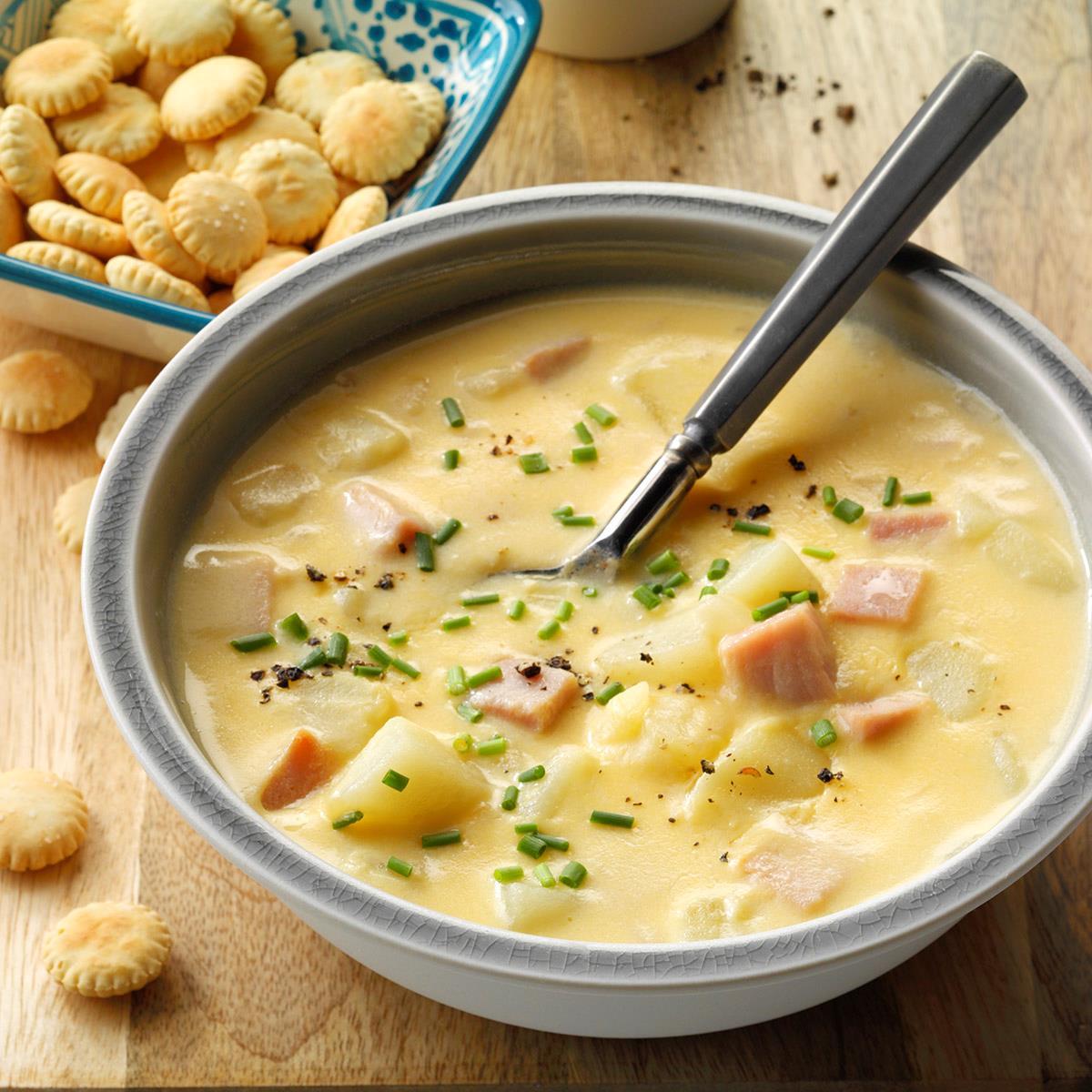 Ham & Cheese Chowder image