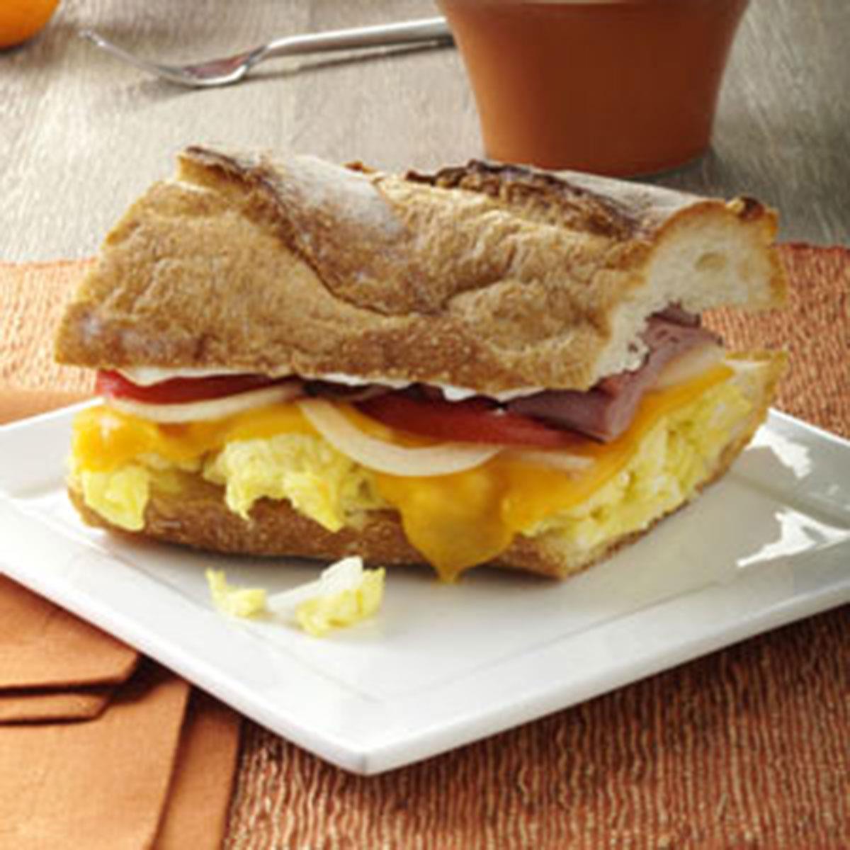 Ham 'n' Egg Sandwich image