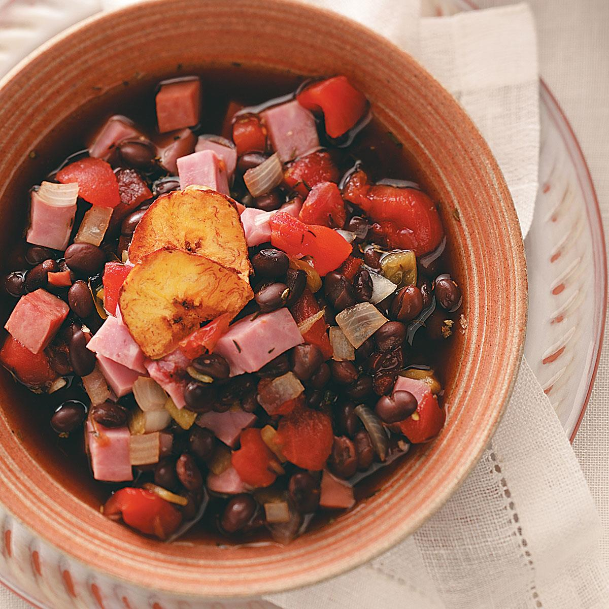 Ham And Black Bean Soup Recipe How To Make It Taste Of Home