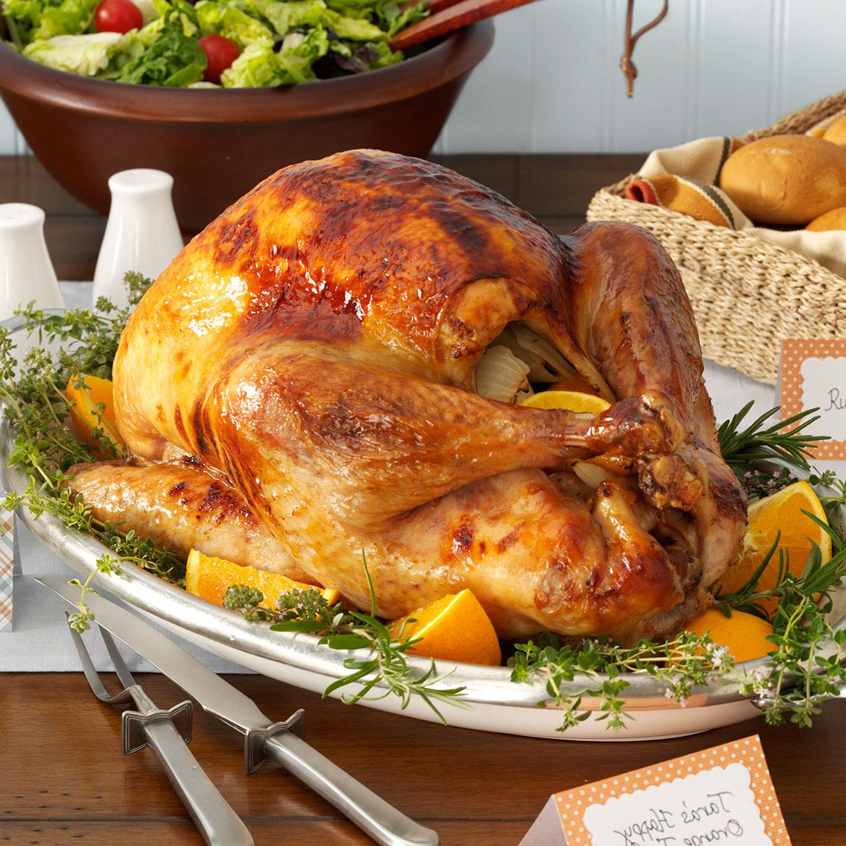 Happy Orange Turkey Recipe How To Make It Taste Of Home
