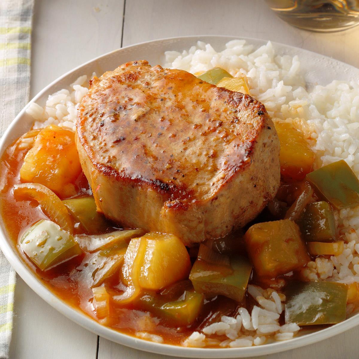 hawaiian pork chop recipes oven Hawaiian Pork Chops