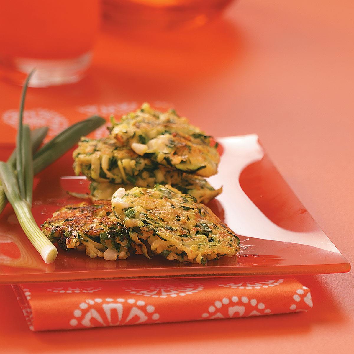 Healthy Zucchini Pancakes image
