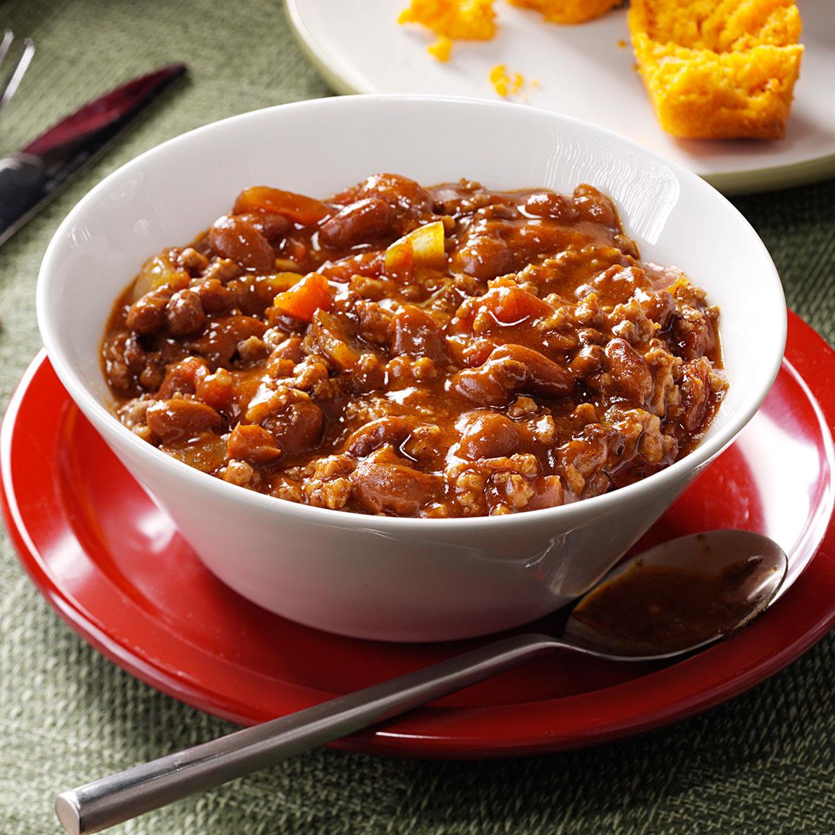 Hearty Beef & Bean Chili image