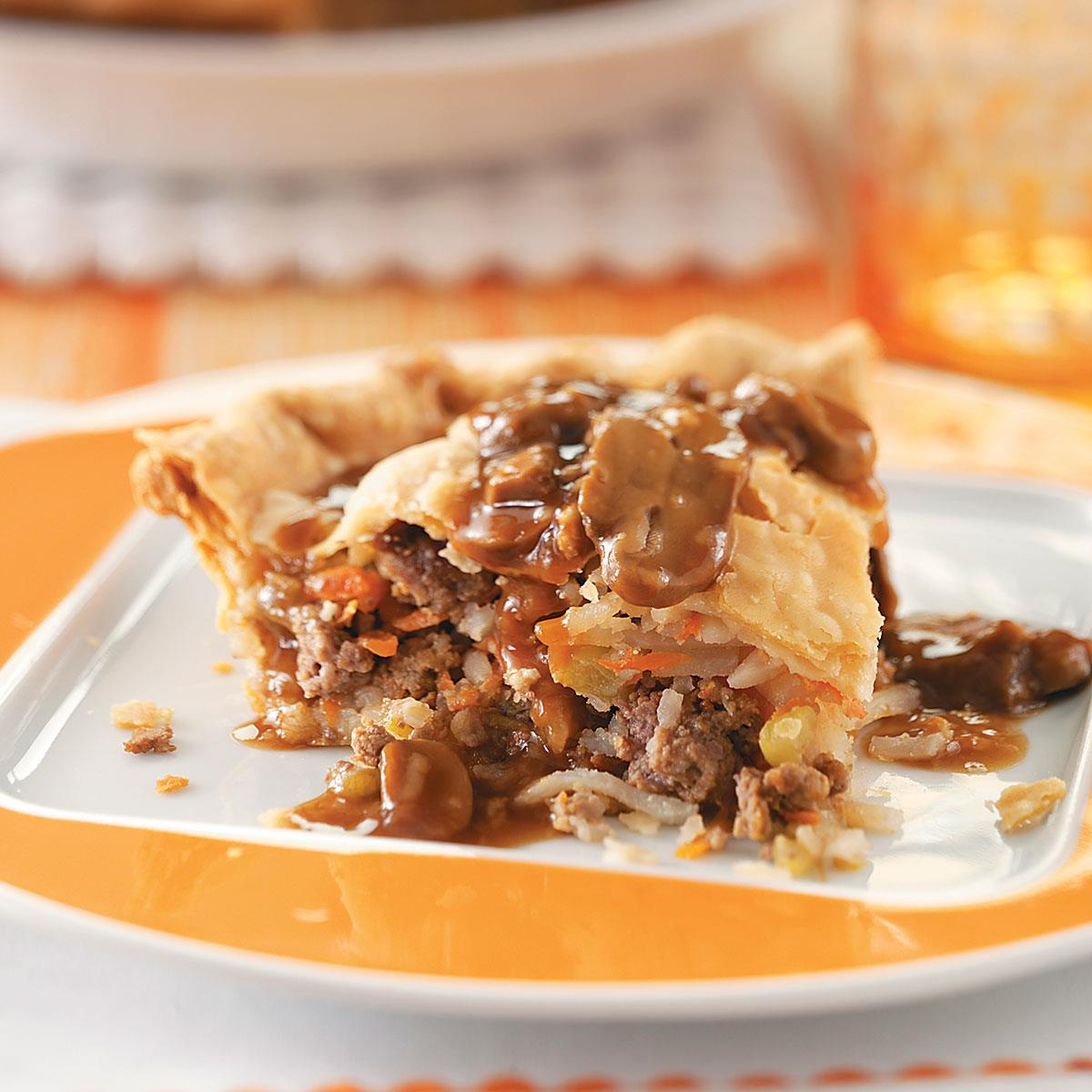 Hearty Meat Pie Recipe How To Make It Taste Of Home