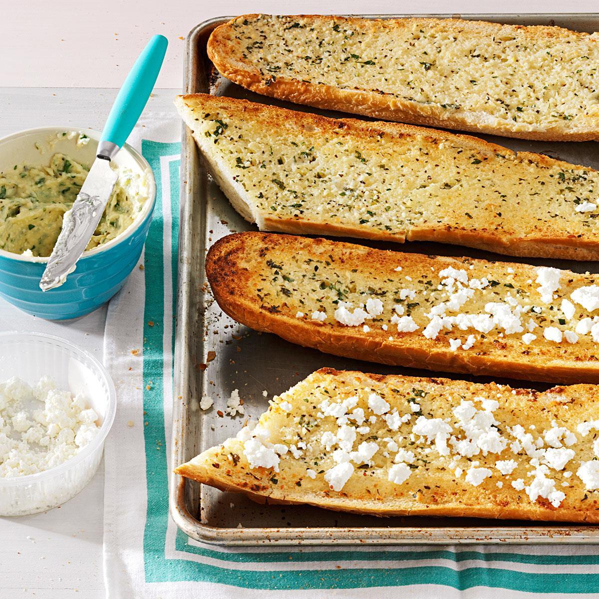 Herb-Happy Garlic Bread image