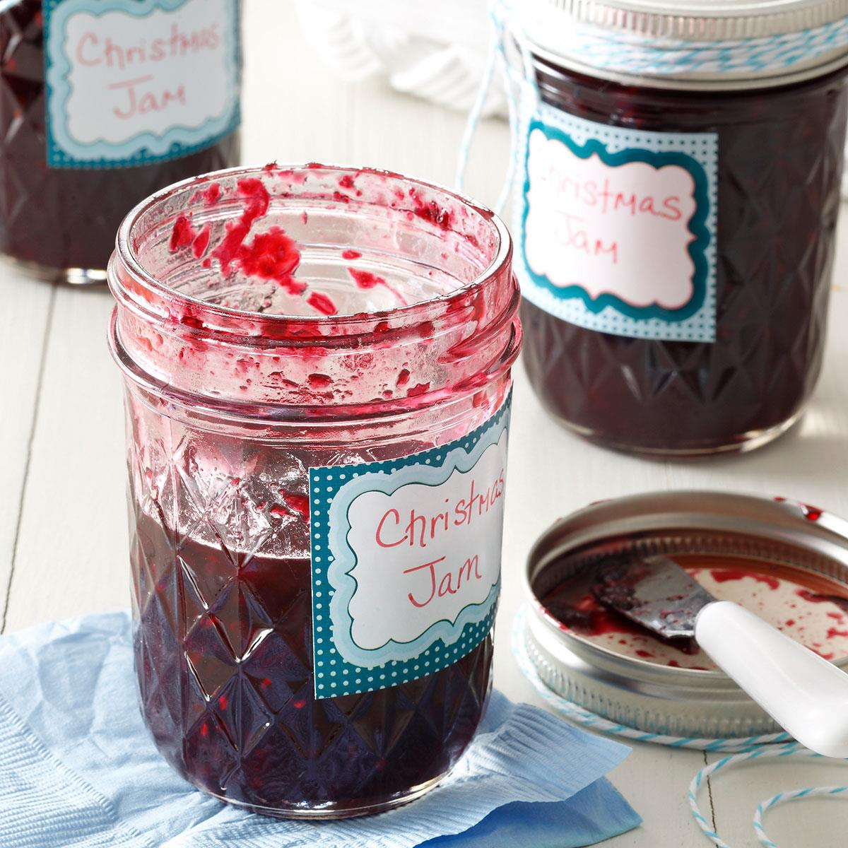 Homemade Christmas Jam Recipe How To Make It Taste Of Home