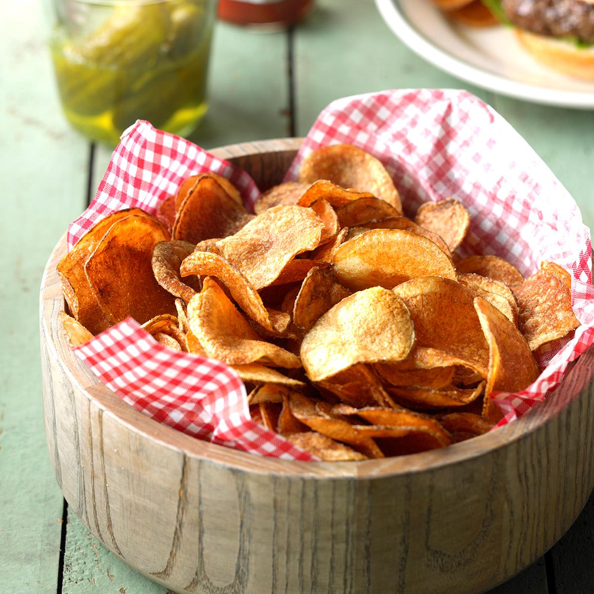 Homemade Potato Chips image