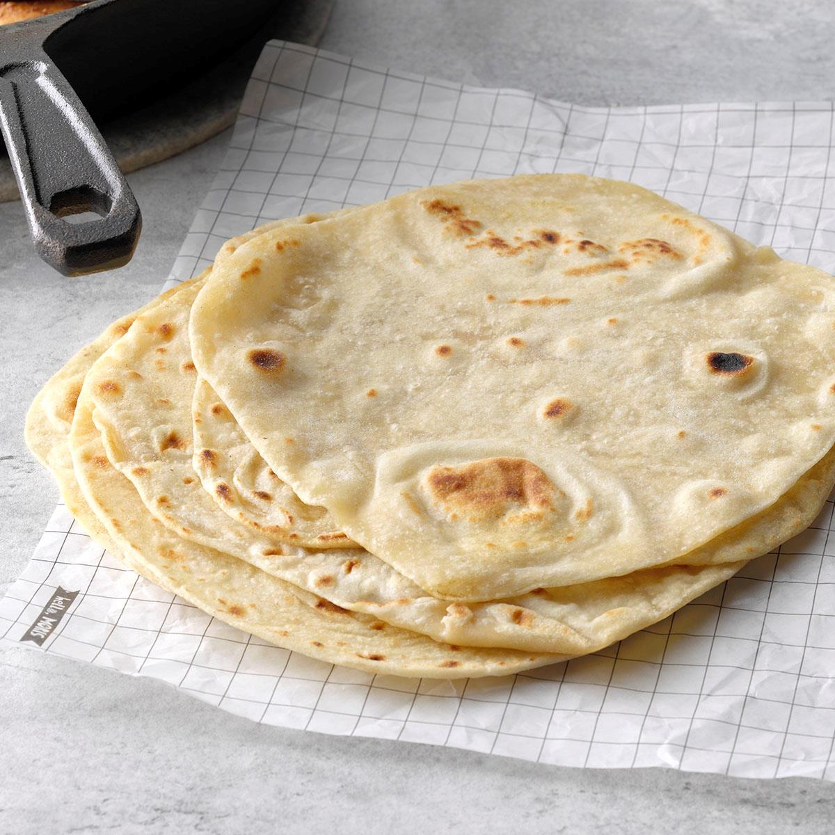 Homemade Tortillas Recipe How To Make It Taste Of Home