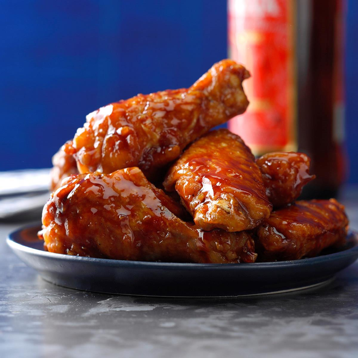 Honey-Barbecue Chicken Wings image