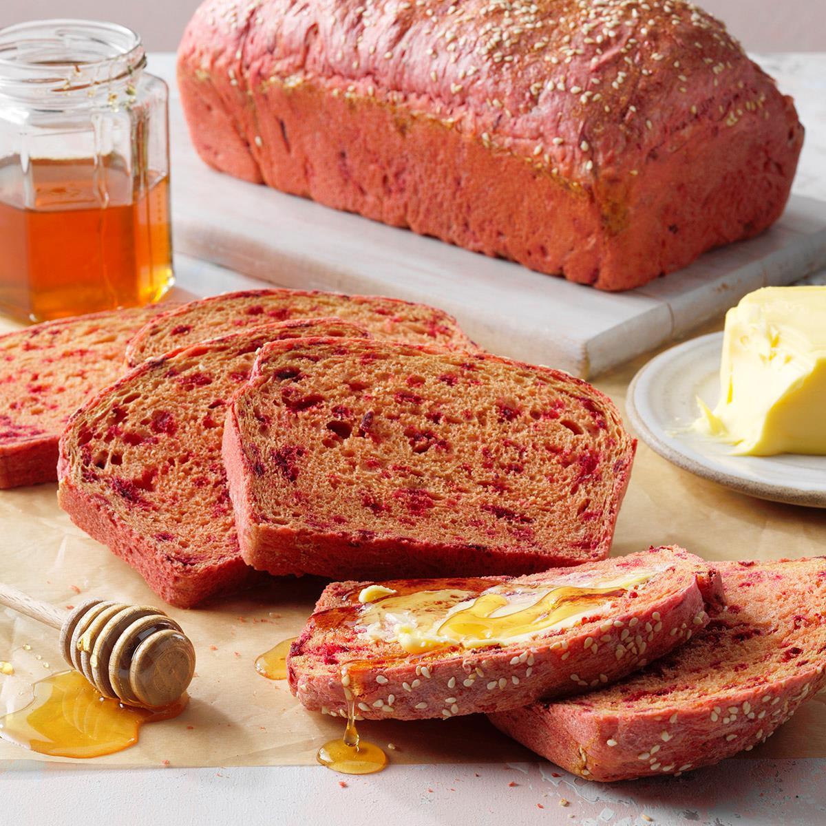 Honey Beet Bread