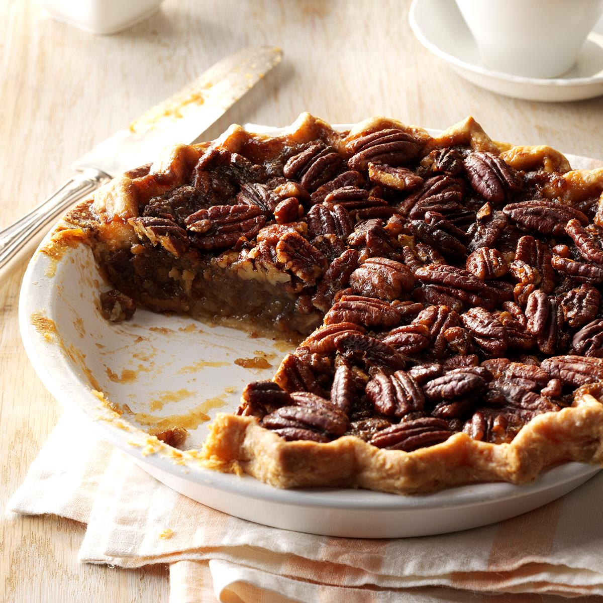 Honey Pecan Pie Recipe How To Make It Taste Of Home