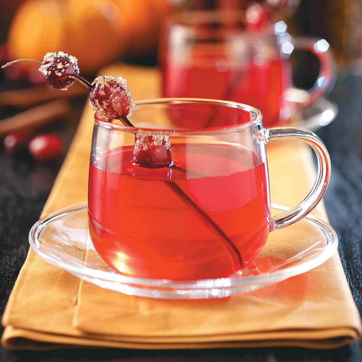 Hot Cranberry Tea image