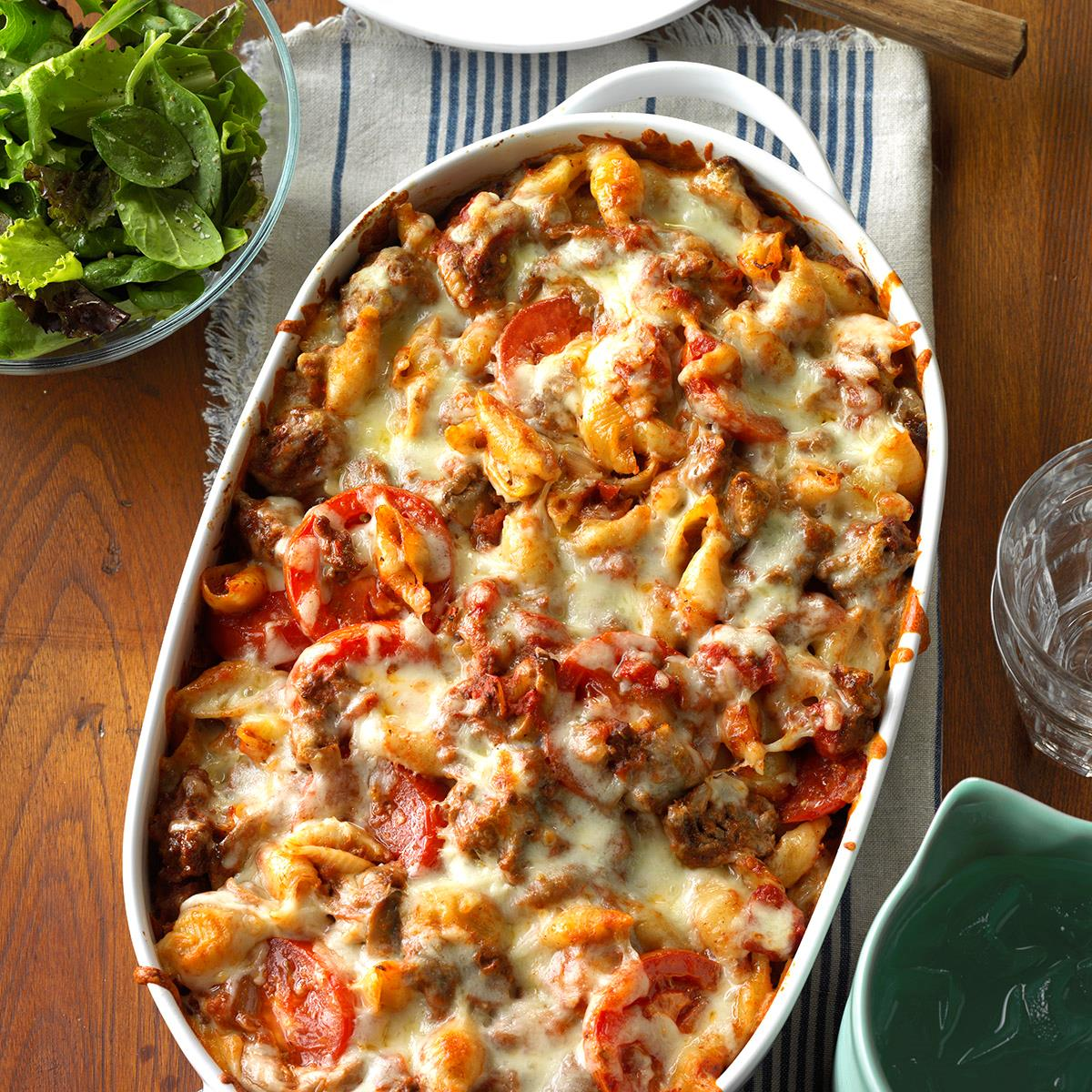 Italian Pasta Bake Recipe How To Make It Taste Of Home
