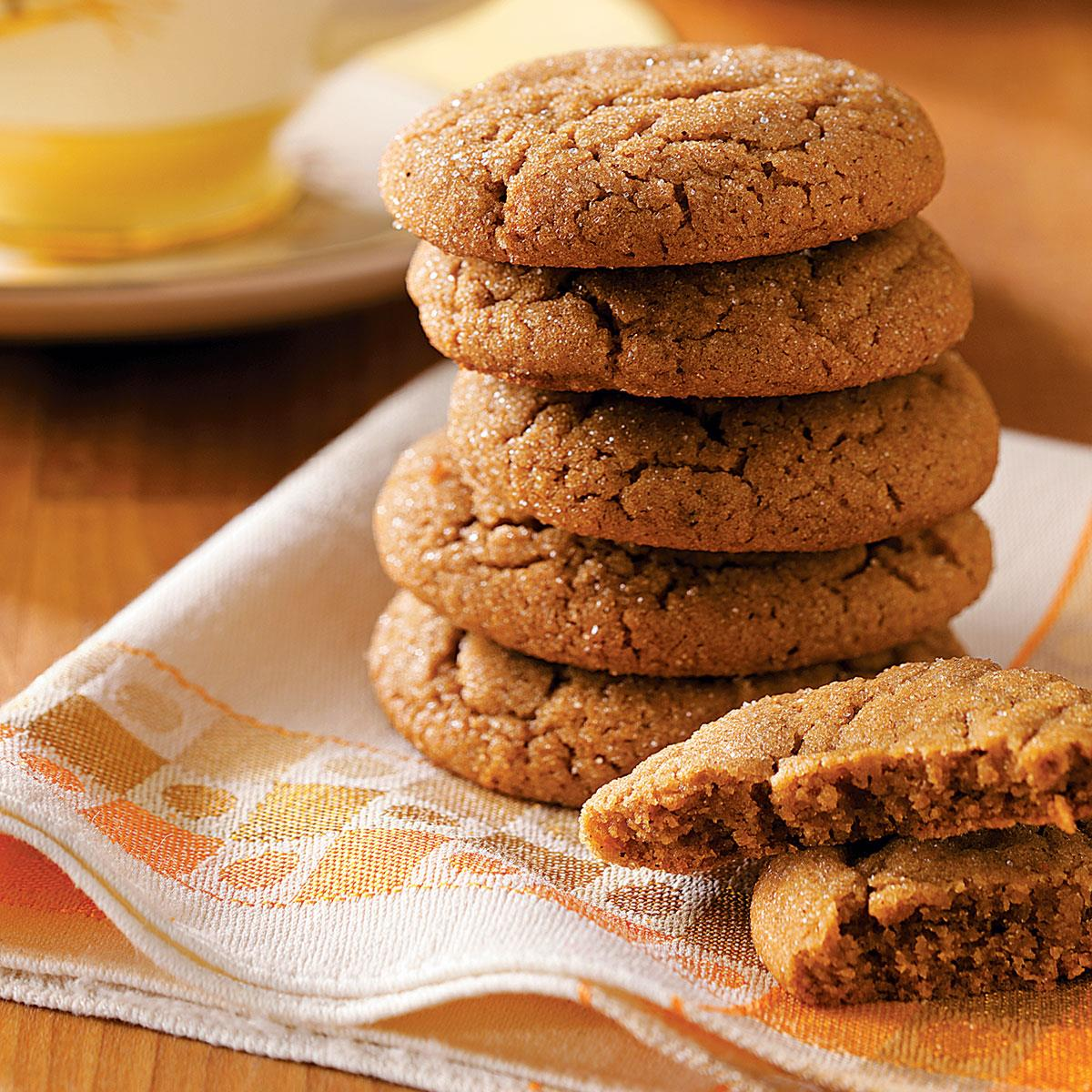 Lara S Tender Gingersnaps Recipe How To Make It Taste Of Home