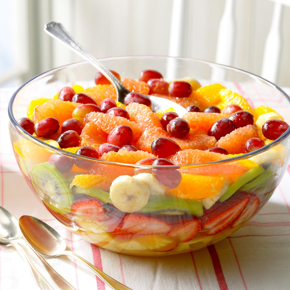 Layered Fresh Fruit Salad Recipe: How to Make It | Taste of Home