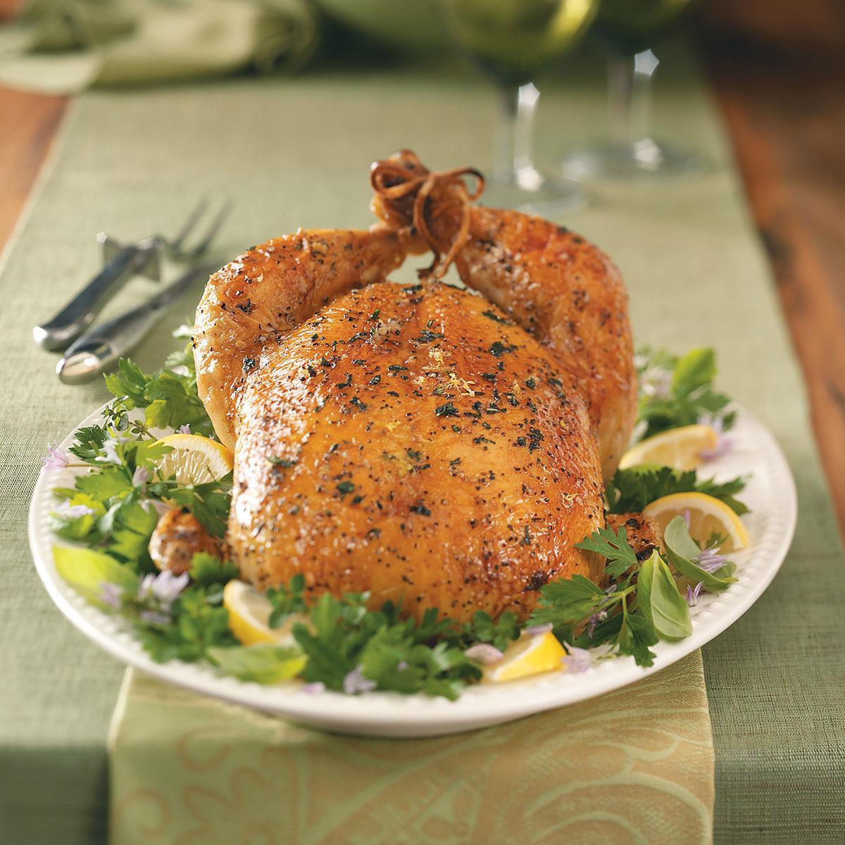 Lemon Basil Chicken Recipe How To Make It Taste Of Home