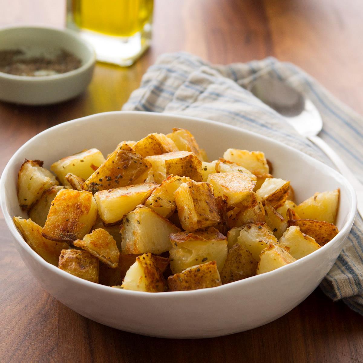 Lemon Oregano Potatoes image