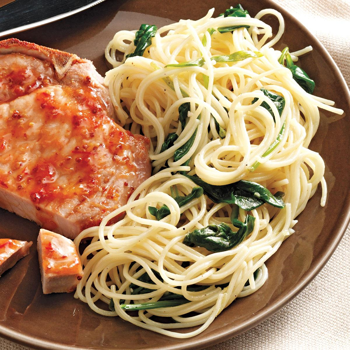Lemon Pasta with Spinach_image