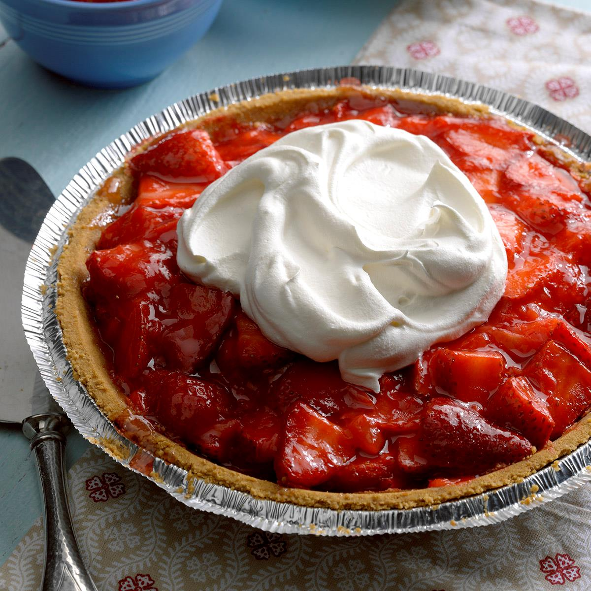 Light Strawberry Pie Recipe How To Make It Taste Of Home