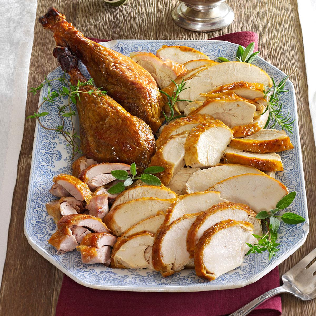 Make Ahead Turkey And Gravy Recipe How To Make It Taste Of Home