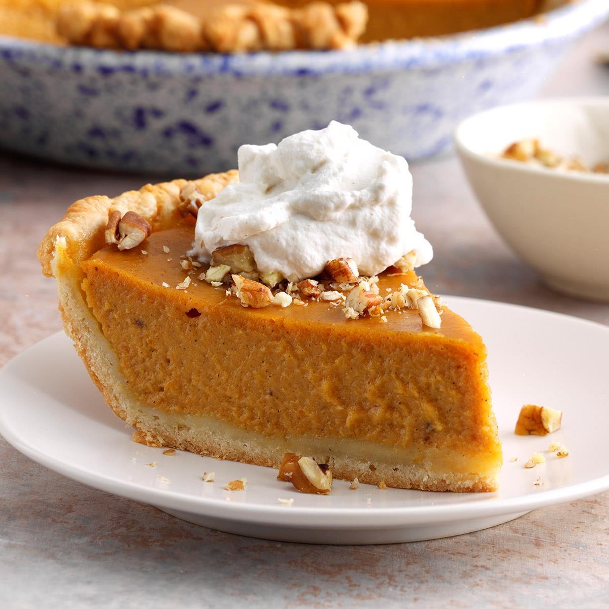 Maple Pumpkin Pie image