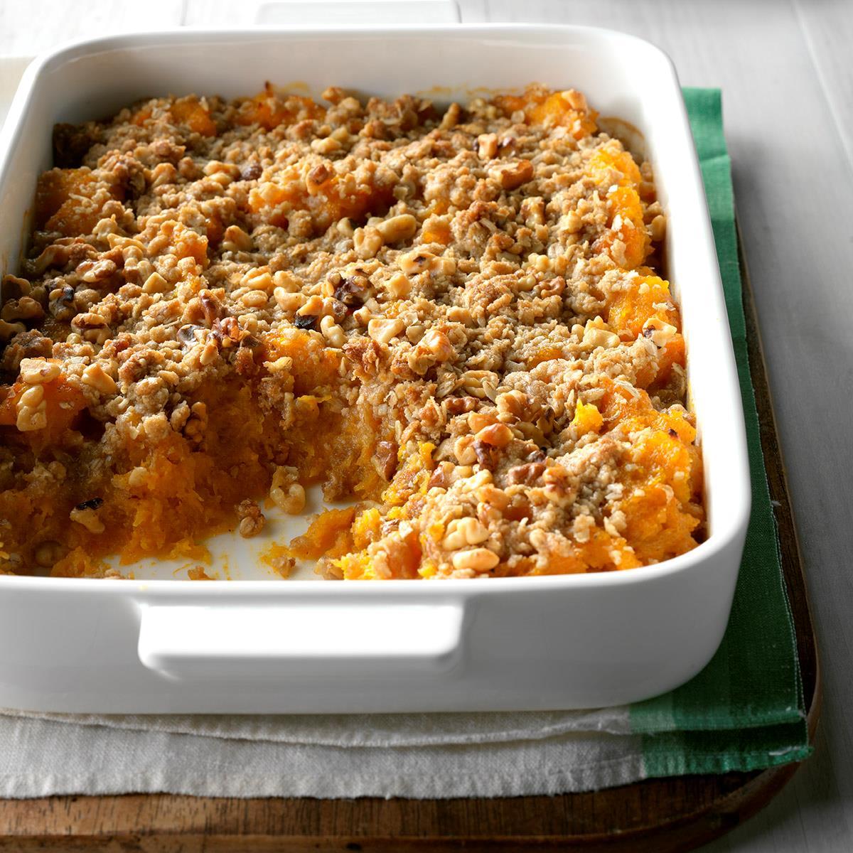 Maple Winter Squash Casserole Recipe How To Make It Taste Of Home