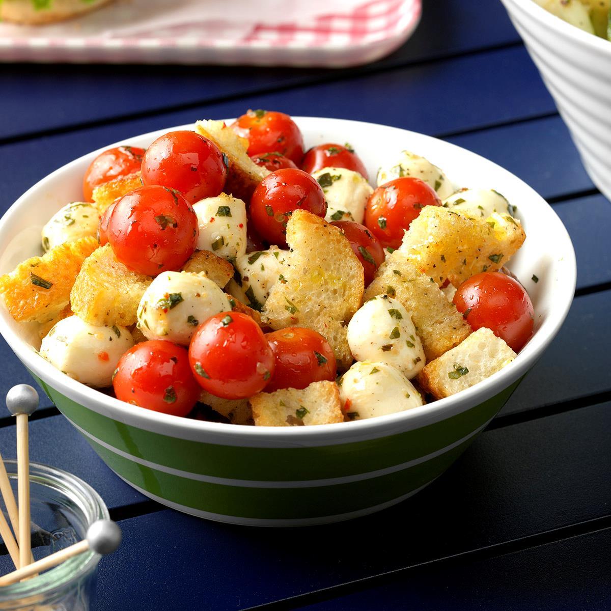 16+ Marinated Mozzarella & Tomato Appetizers Fotografie