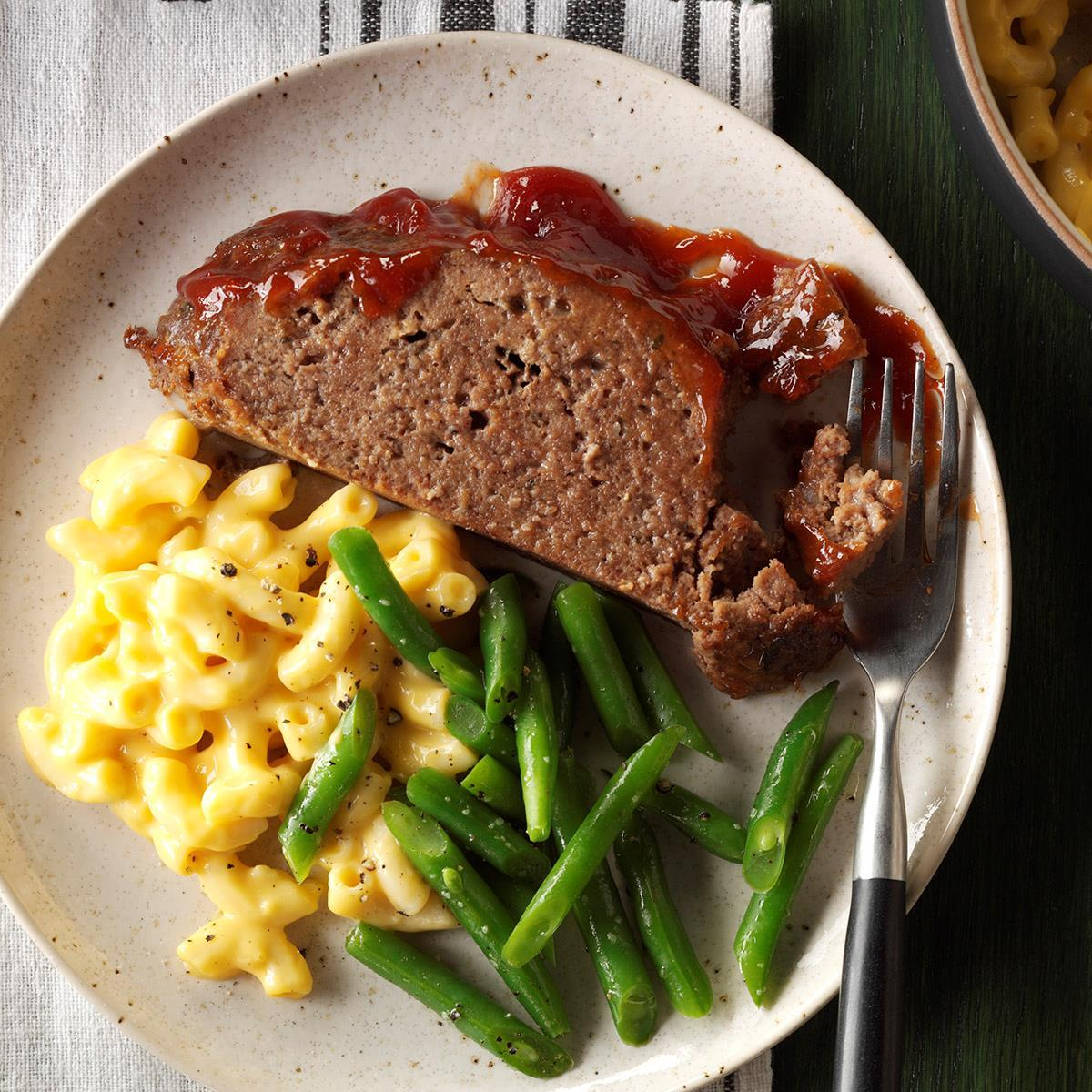 Melt In Your Mouth Meat Loaf Recipe How To Make It Taste Of Home