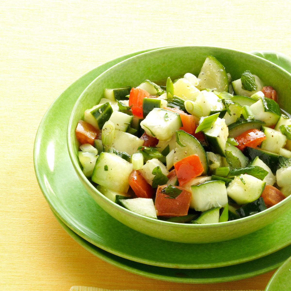 Cucumber Salad Recipe For Diabetics
