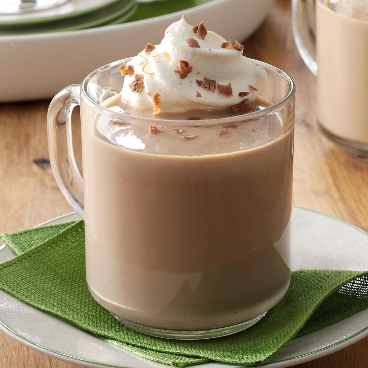 Mocha Eggnog Recipe How To Make It Taste Of Home