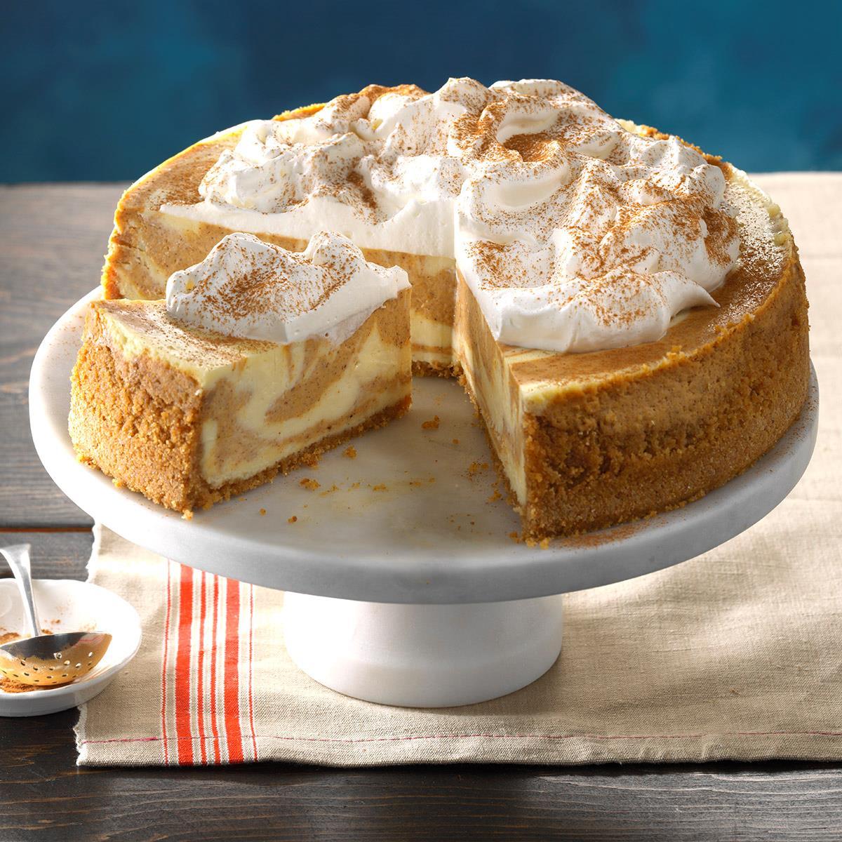 Mom S Best Pumpkin Cheesecake Recipe How To Make It Taste Of Home