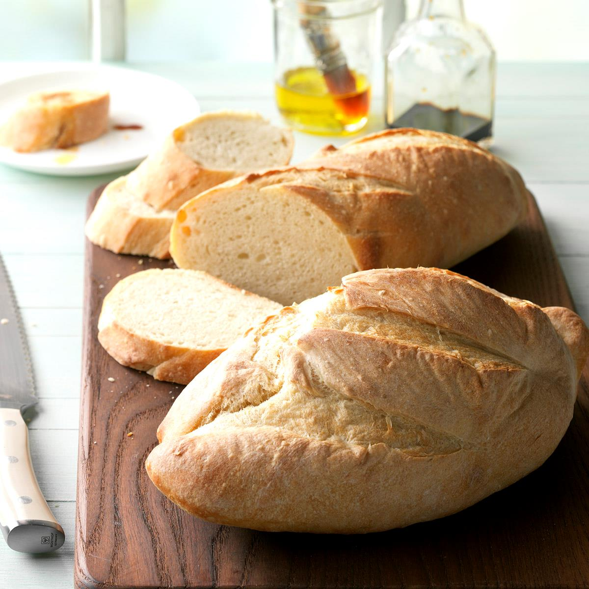 Mom S Italian Bread Recipe How To Make It Taste Of Home