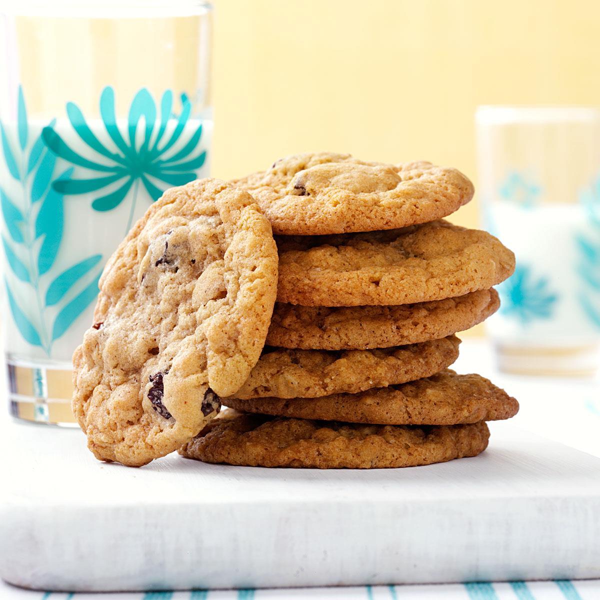 Oatmeal Raisin Cookies image
