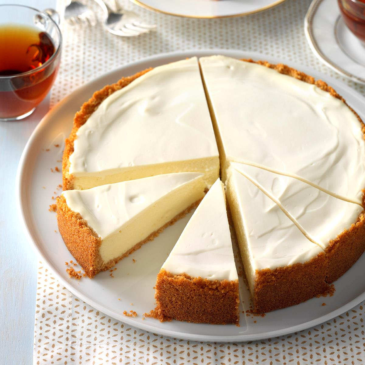 Old World Ricotta Cheesecake Recipe How To Make It Taste Of Home