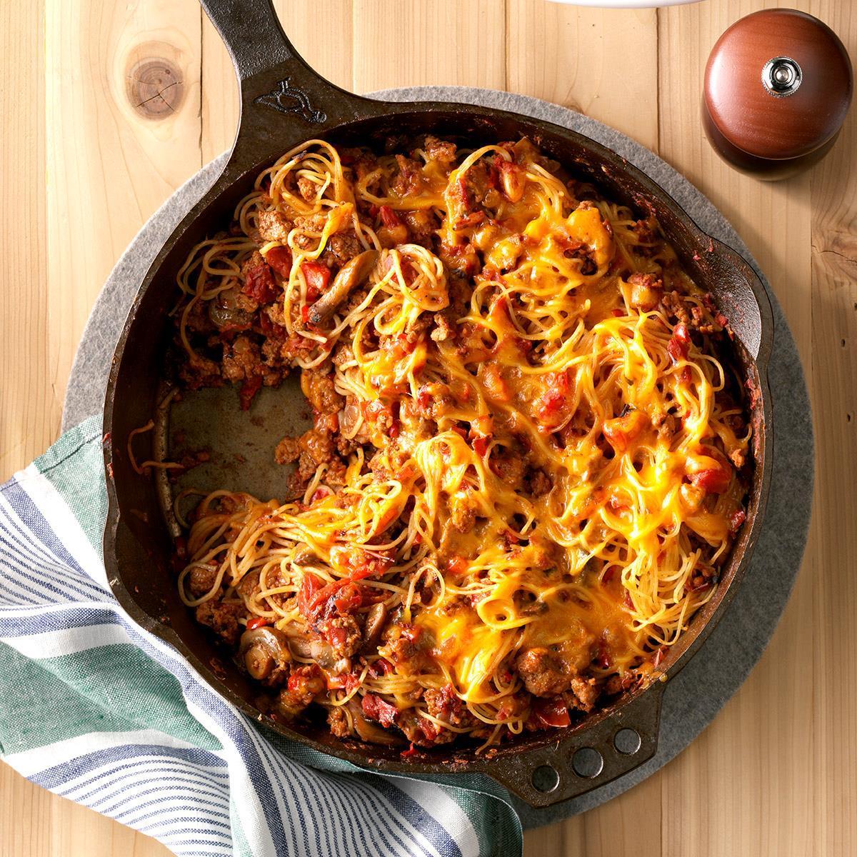 One Skillet Pasta Recipe Taste Of Home