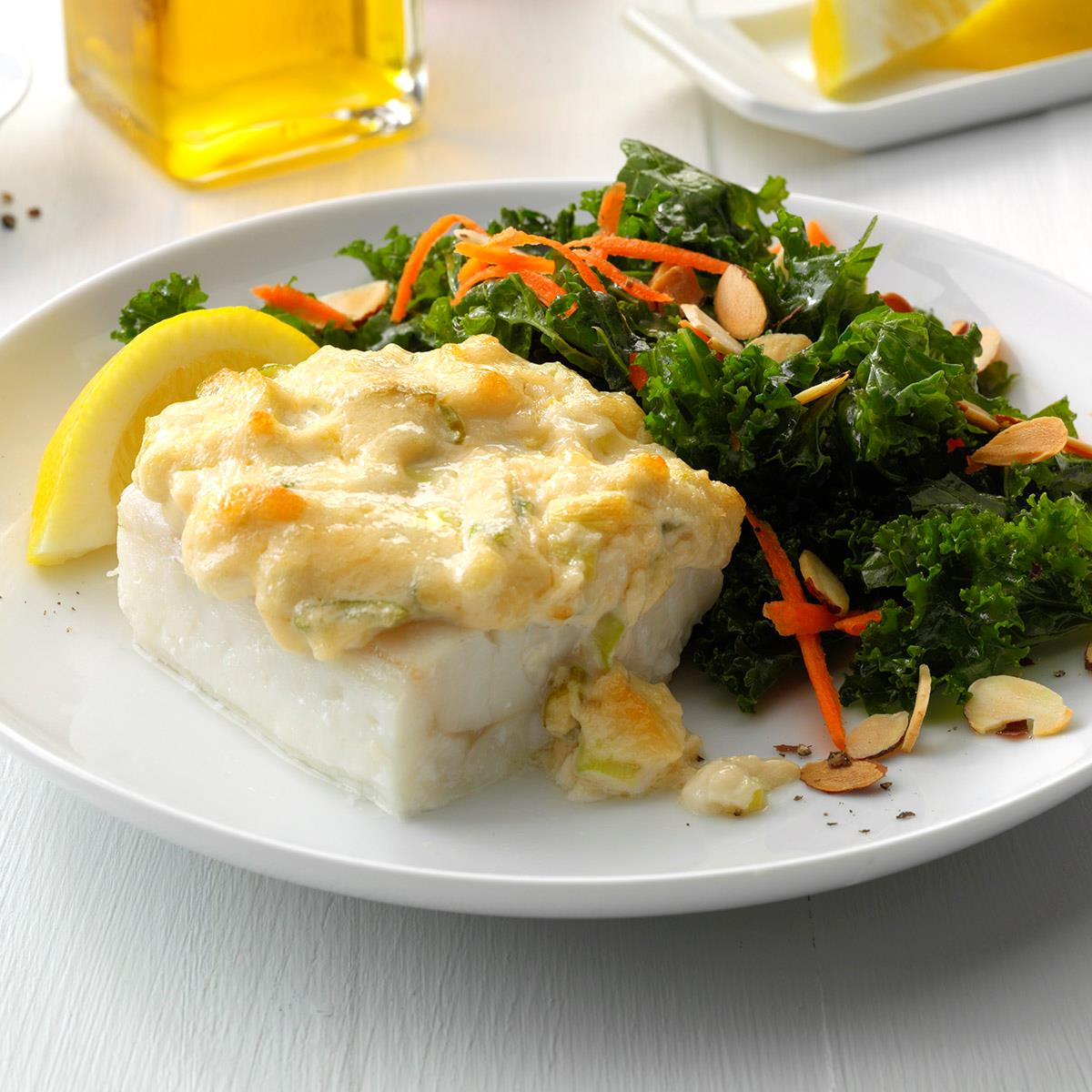 Parmesan Baked Cod Recipe How To Make It Taste Of Home