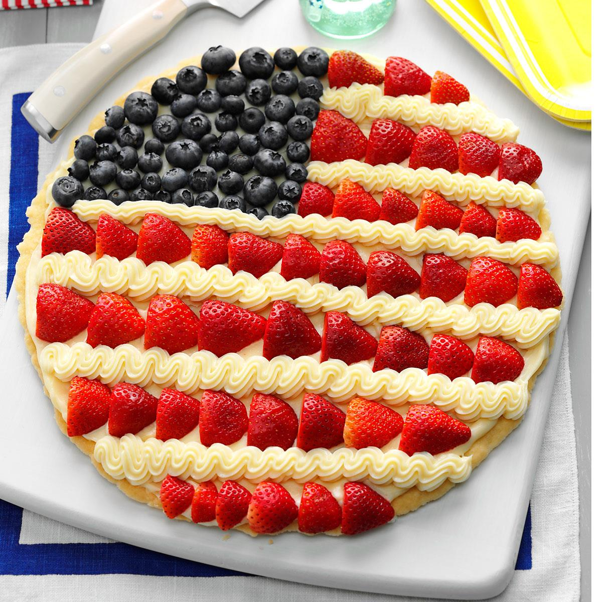 Patriotic Pizzas Recipe How To Make It Taste Of Home
