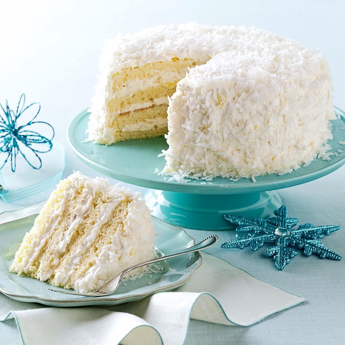 Pineapple Coconut Cake Recipe How To Make It Taste Of Home