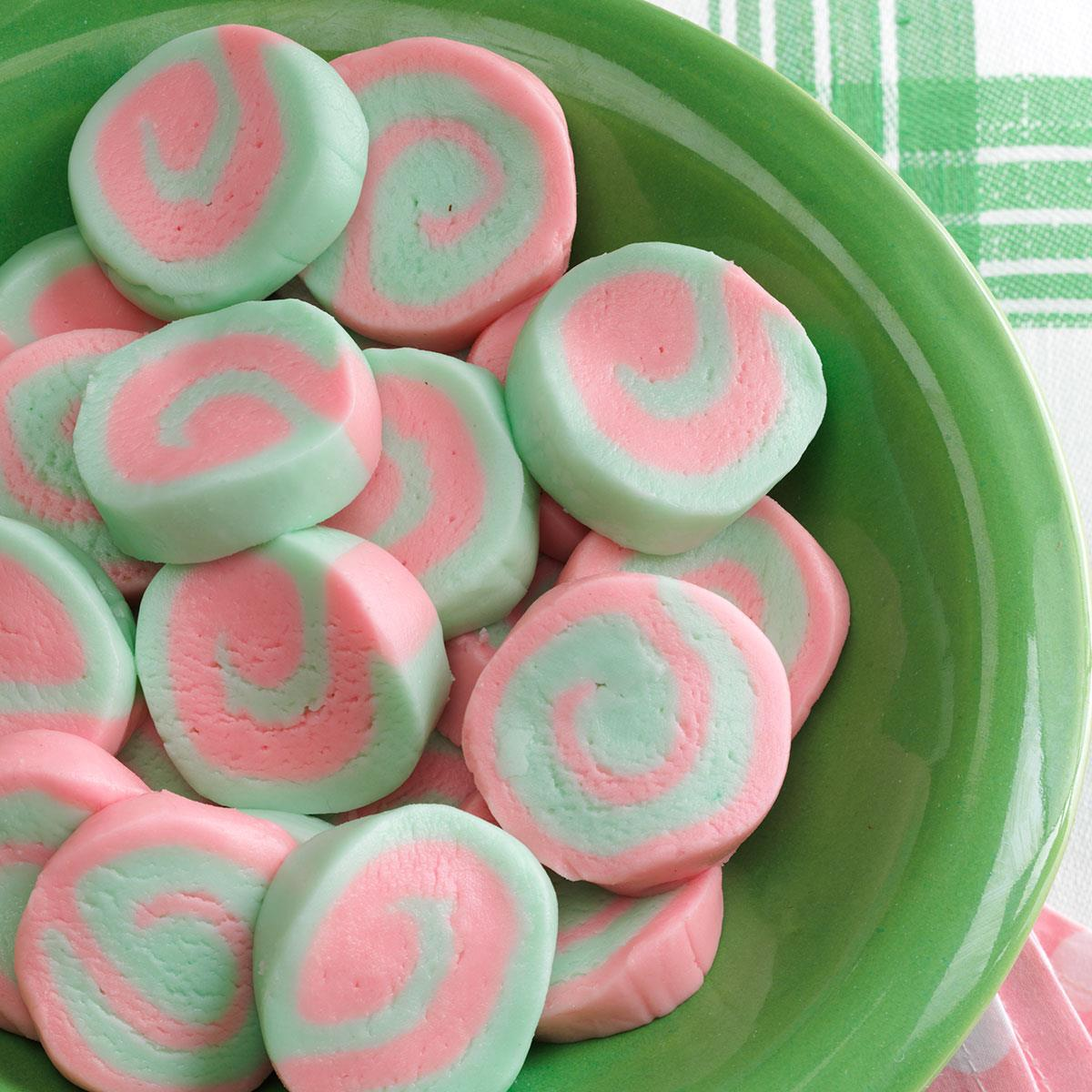 Pinwheel Mints Recipe How To Make It Taste Of Home