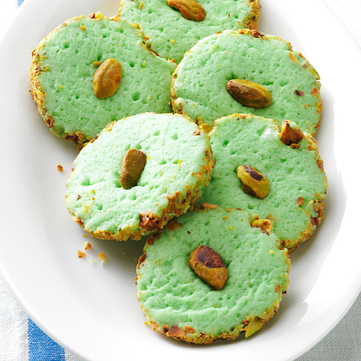 Pistachio Cream Cheese Cookies image
