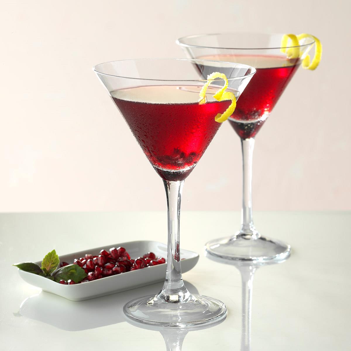 Pomegranate Martini Recipe How To Make It Taste Of Home