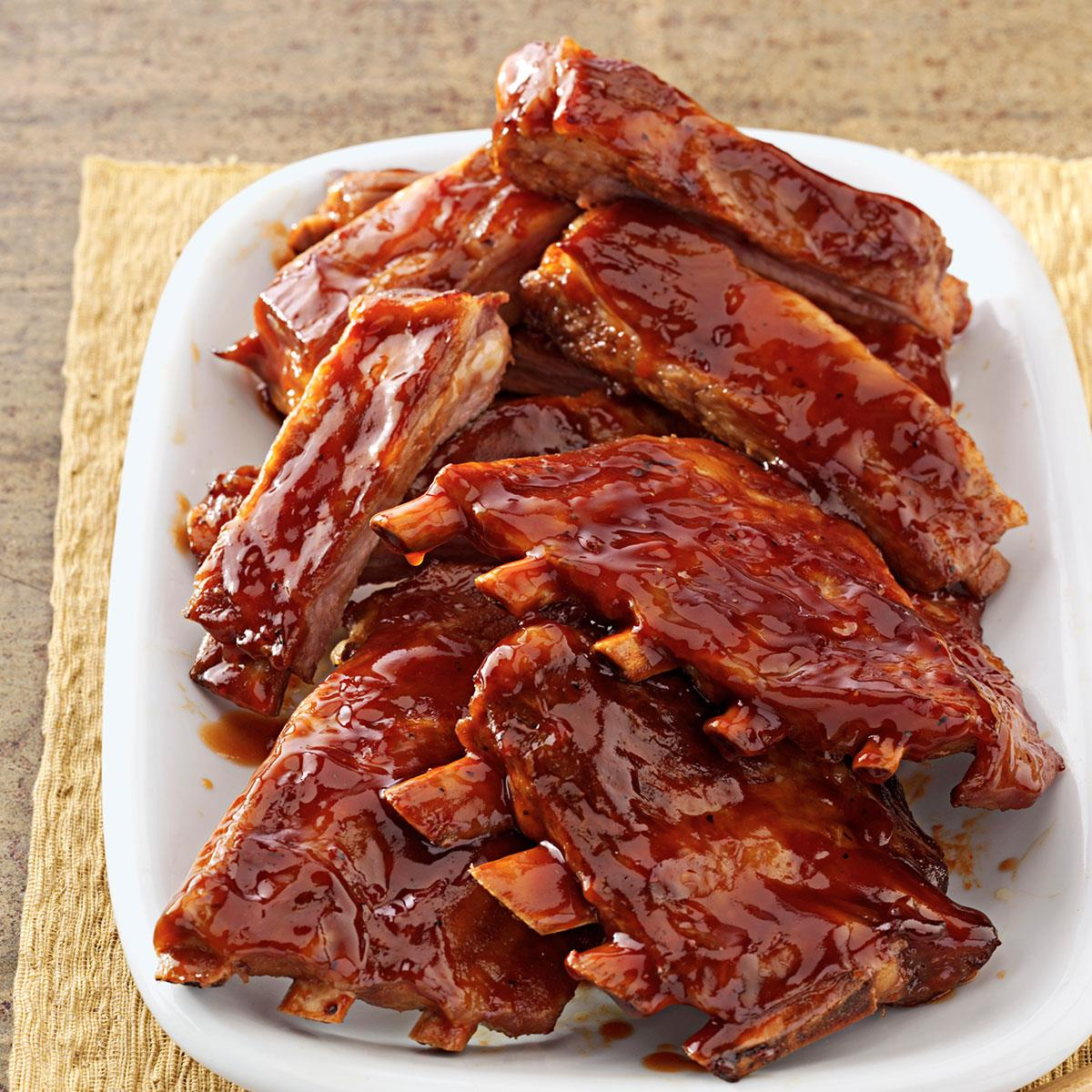 Potluck Spareribs Recipe How To Make It Taste Of Home