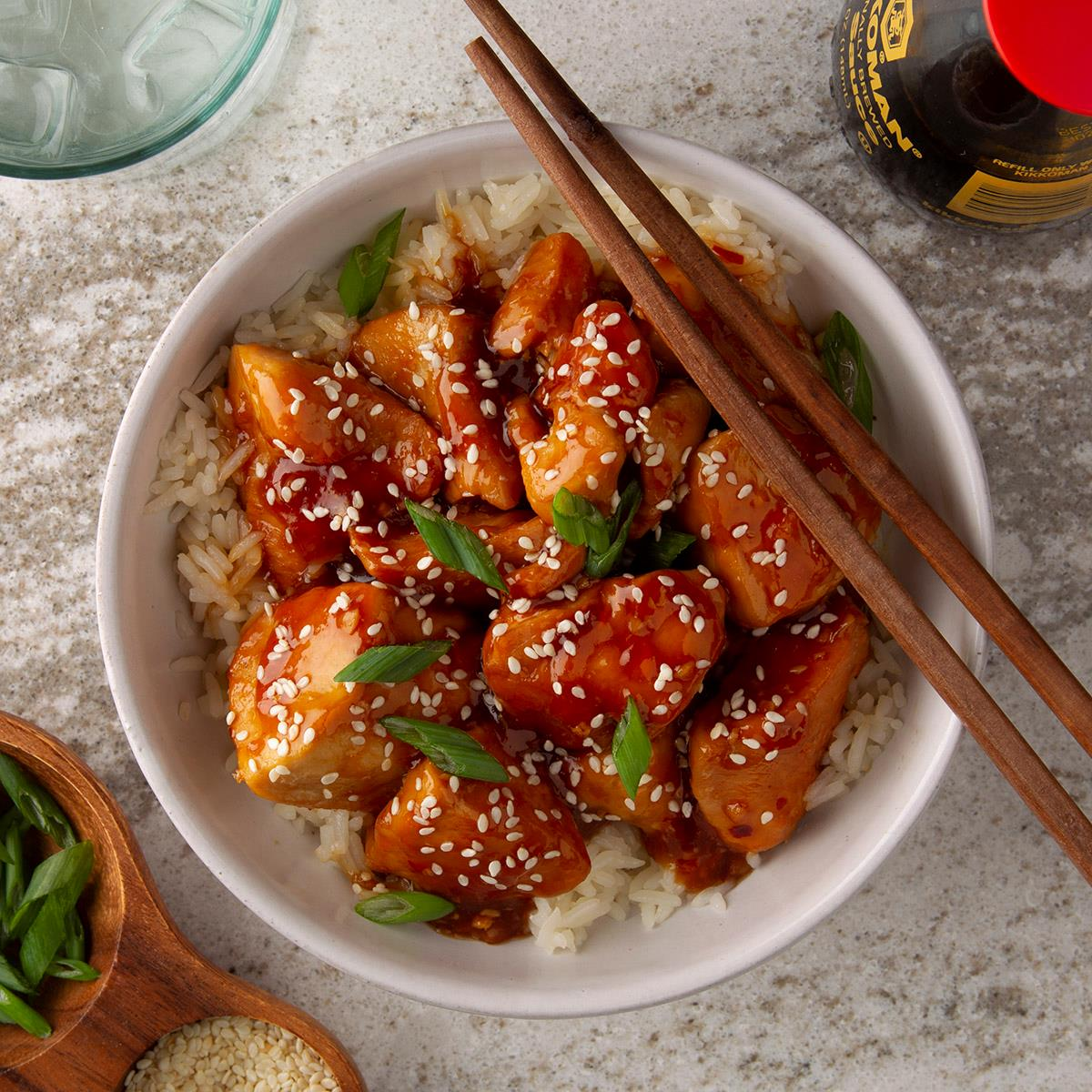 Instant Pot Sesame Chicken Recipe How To Make It Taste Of Home