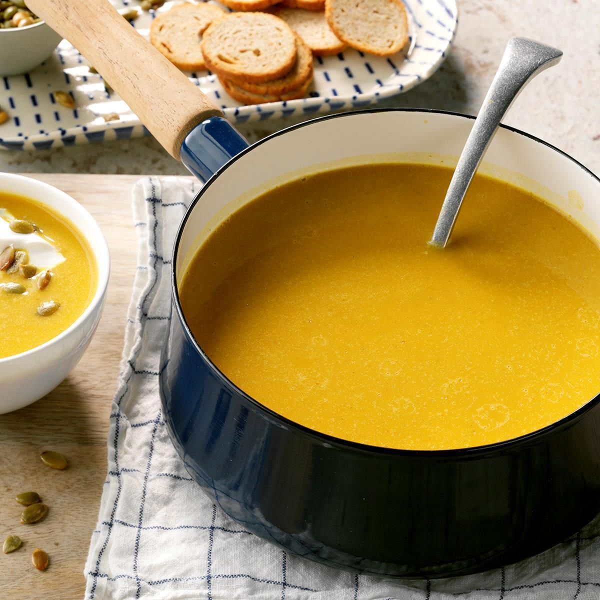 Pumpkin-Coconut Soup image