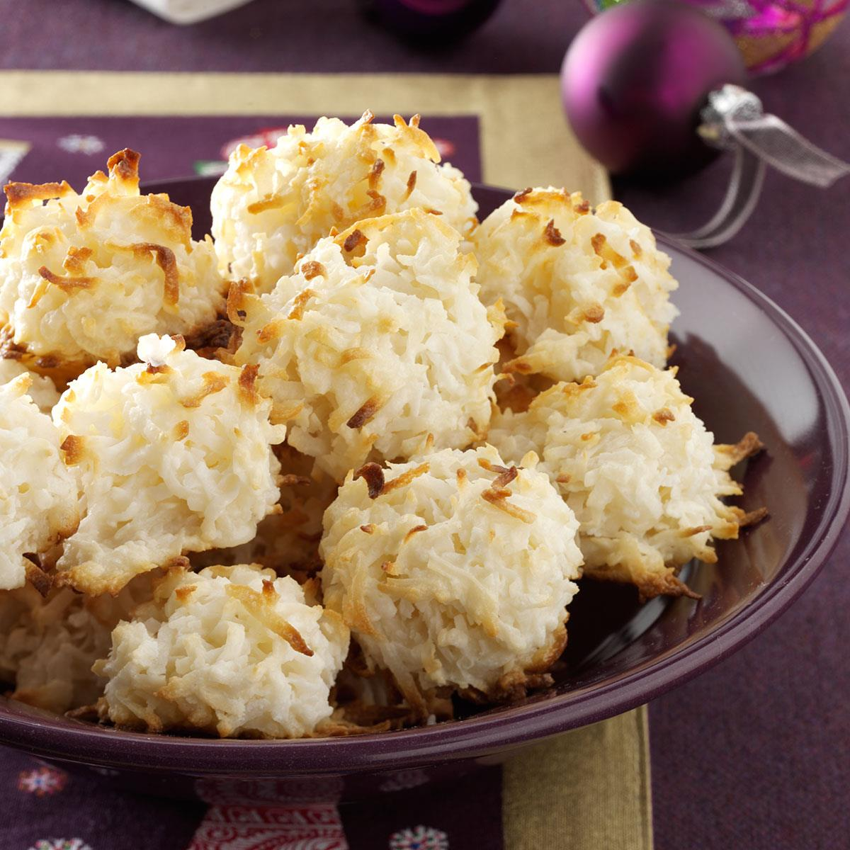 Quick Coconut Macaroons Recipe How To Make It Taste Of Home