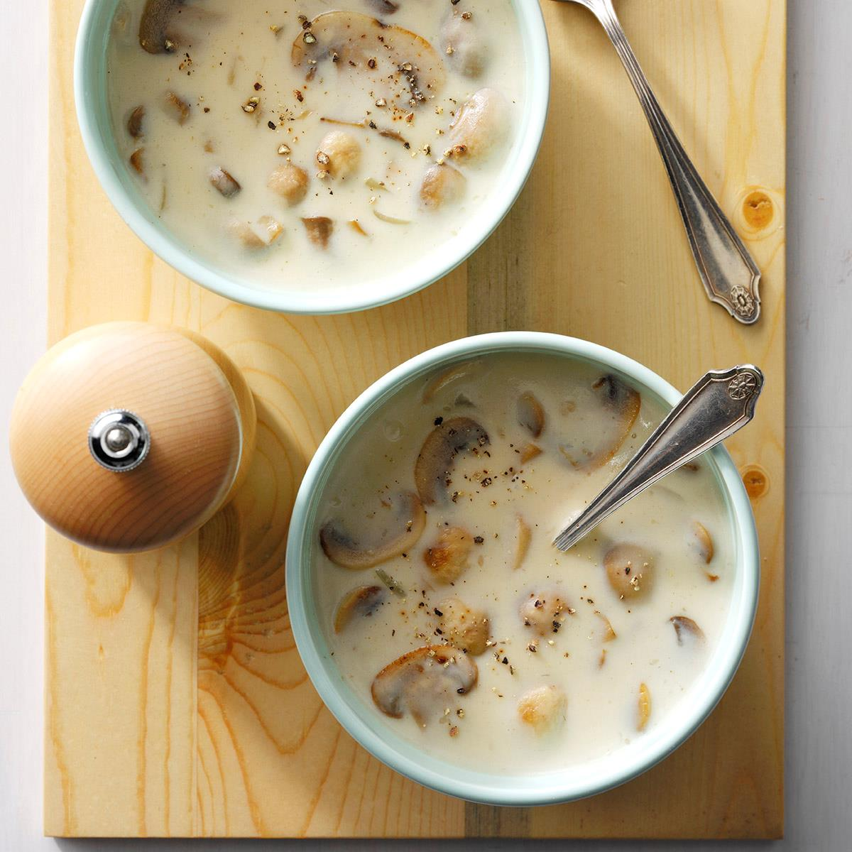 Quick Cream Of Mushroom Soup Recipe How To Make It Taste Of Home