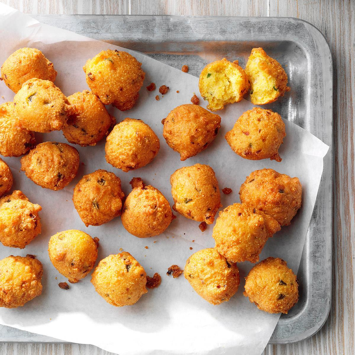 Quick Jalapeno Hush Puppies