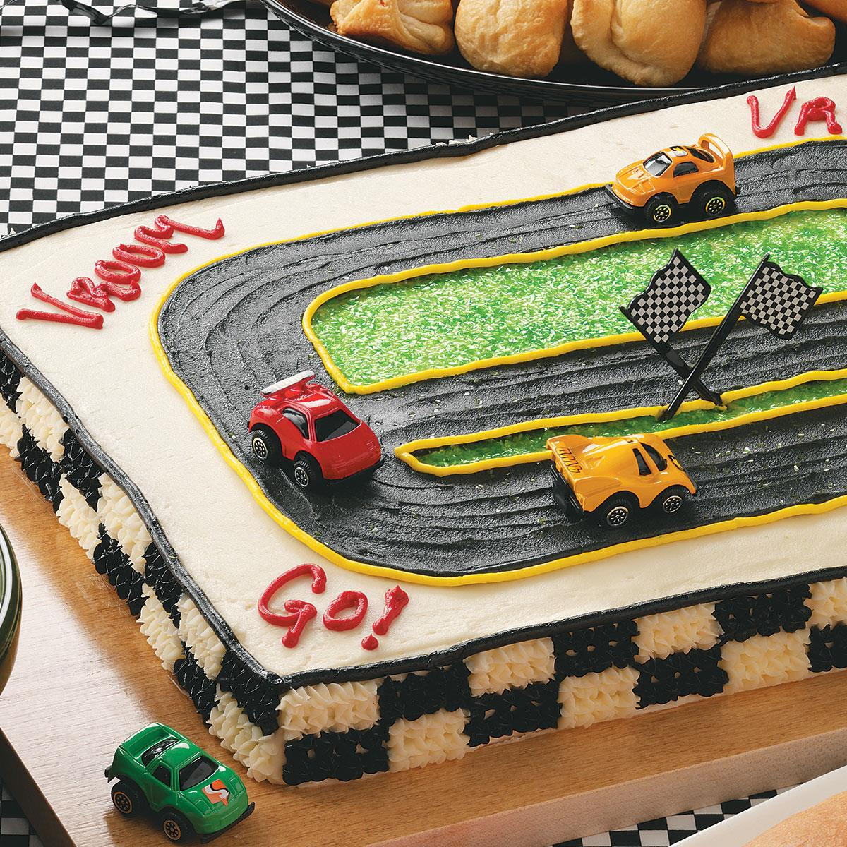Racetrack Cake Recipe How To Make It Taste Of Home